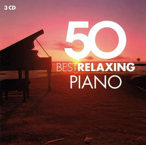 Various<br>50 Best Relaxing Piano<br>3CD, Comp